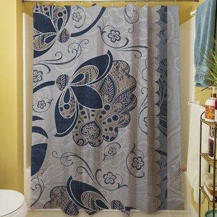 Elegante V Single Shower Curtain