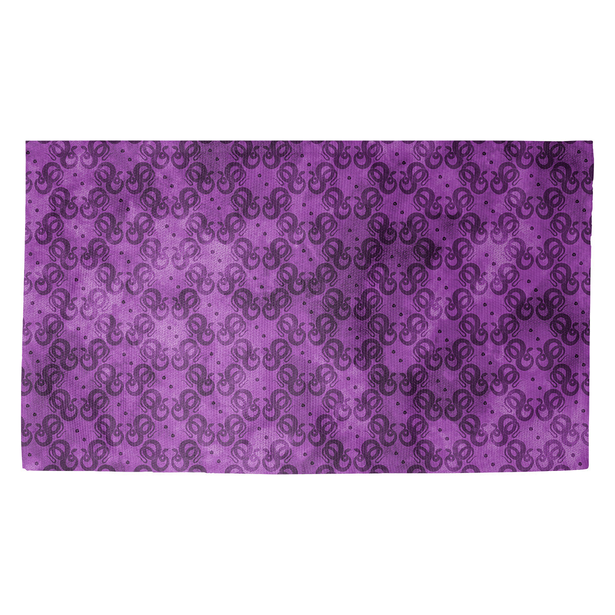 Latitude Run Avicia Snakes Purple Black Area Rug Wayfair