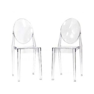Mercer41 Hecker Crystal Dining Chair (Set..