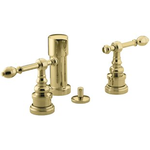 Kohler Iv Georges Brass Vertical Spray Bidet Faucet with Lever Handles