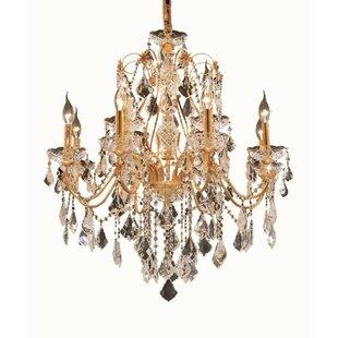 Best Price Thao 12-Light Chandelier By Rosdorf Park
