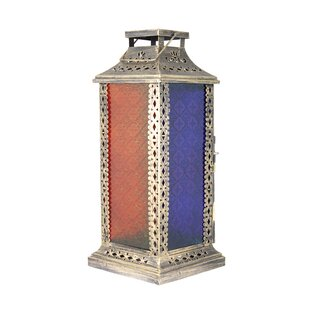 Price Check Metal Lantern By Bloomsbury Market