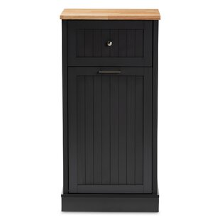 Ebony 1 Drawer Accent Cabinet