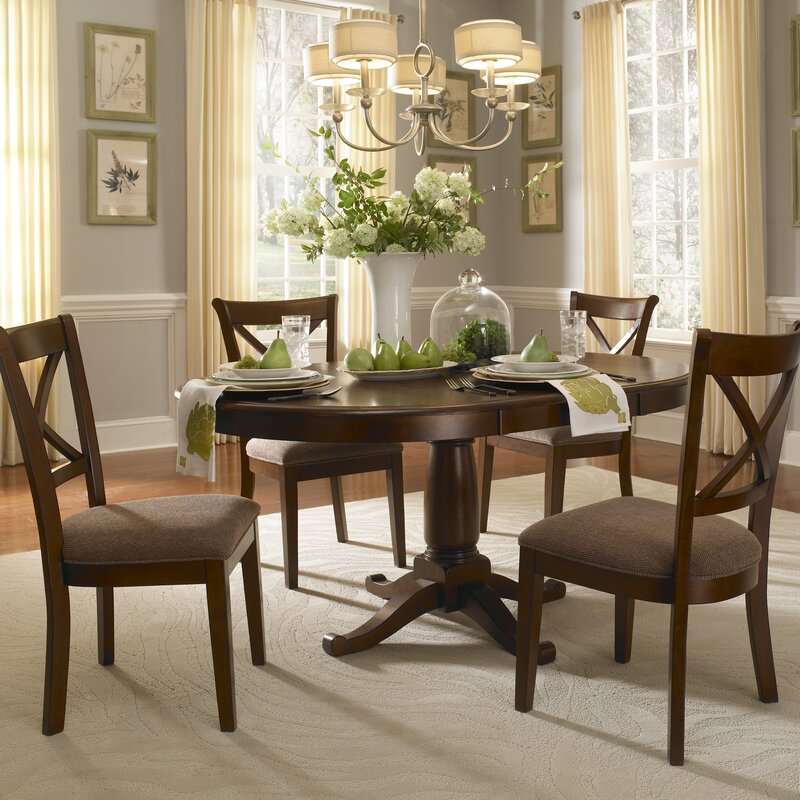 Extending Dining Room Table Classy Darby Home Co Kiantone Extendable Dining Table & Reviews  Wayfair Review