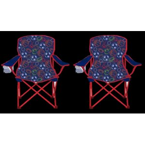 Kids Camping Chair (Set of 2) by Linen Depot Direct