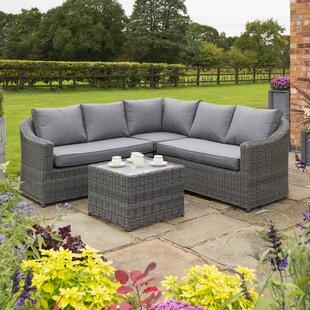 Waterton 5 Seater Rattan Corner Sofa Set Image