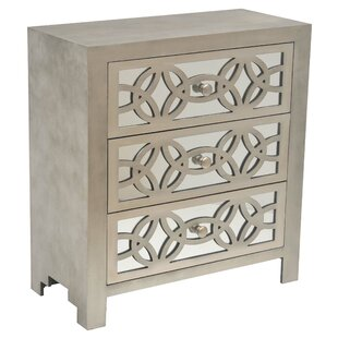 Tasha 3 Drawer Chest by Sa..