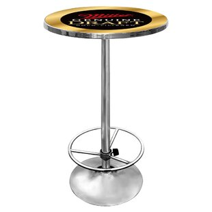 Miller Genuine Draft Pub Table by Trademark Global