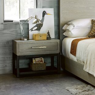 Compare Rimini 1 Drawer Nightstand by Gracie Oaks
