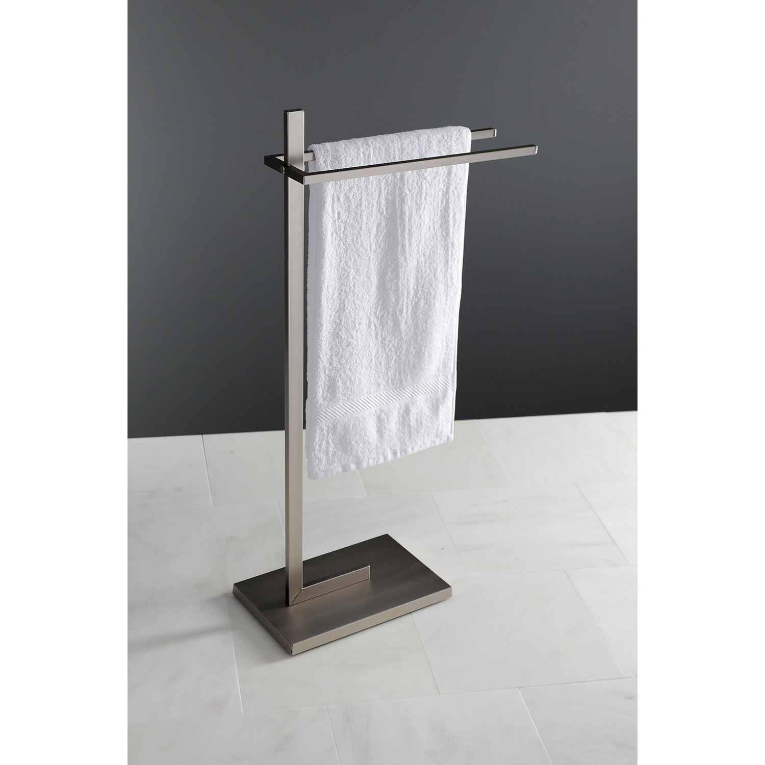 Sale Edenscape Pedestal Dual Free Standing Towel Stand Furniture Online Www46 Maychamcong Co