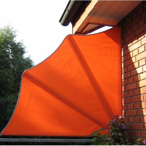 Seitenmarkise   Garten > Balkon   Orange   Leco
