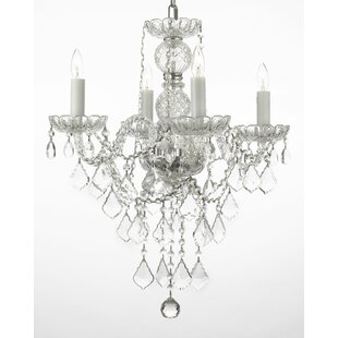 House of Hampton Keeton 4-Light Candle St..