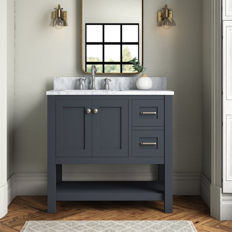Warburton 36 Single Bathroom Vanity Set Reviews Joss Main