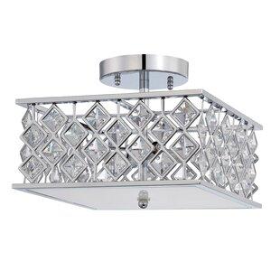 Kendal Lighting Milano 4-Light Semi Flush Mount