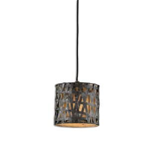 Trent Austin Design Spiritwind 1-Light Drum Pendant