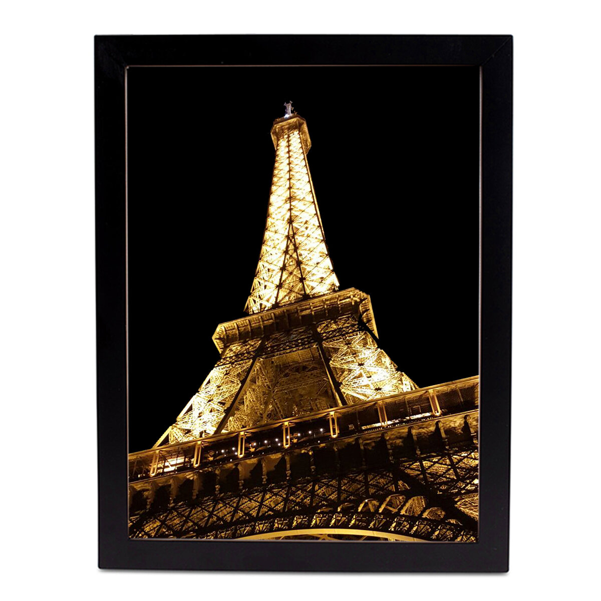 Safiyajamila Holiday Treasures Eiffel Tower Framed Photographic Print Wayfair