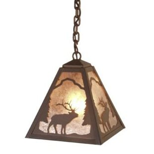 Elk 1 Light Outdoor Pendant