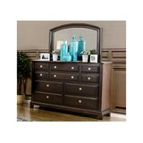 Harvell 10 Drawer Double Dresser by Red Barrel Studio®
