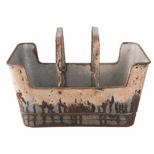 Dilek Metal Planter Box By Borough Wharf