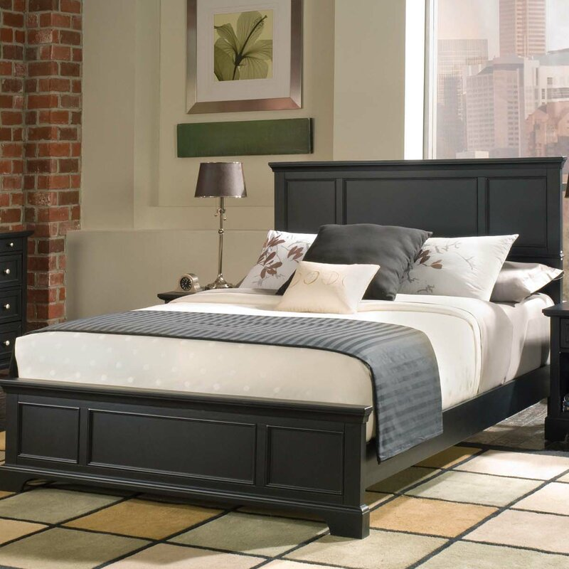 Black Thome Standard Bed by Charlton Home