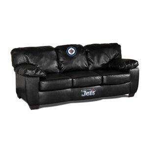 Imperial International NHL Classic Leather Sofa