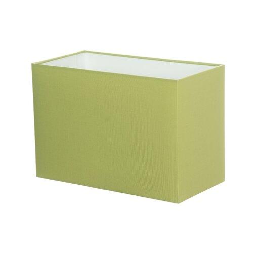 Lampenschirm aus Baumwolle Wayfair Basics Farbe/Ausführung: Salbeigrün| Größe: 20 cm H x 30 cm B x 15 cm T | Lampen > Lampenschirme und Füsse | Wayfair Basics