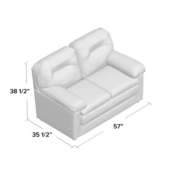 Piedmont Furniture 57 Pillow Top Arm Loveseat Wayfair Ca