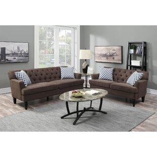 Kamila 2 Piece Living Room Set By Winston Porter