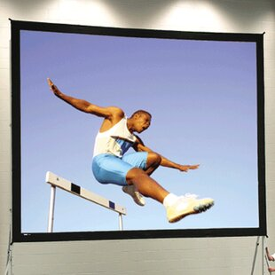 Check Prices Fast Fold Deluxe 108 H x 192 W Portable Projection Screen By Da-Lite