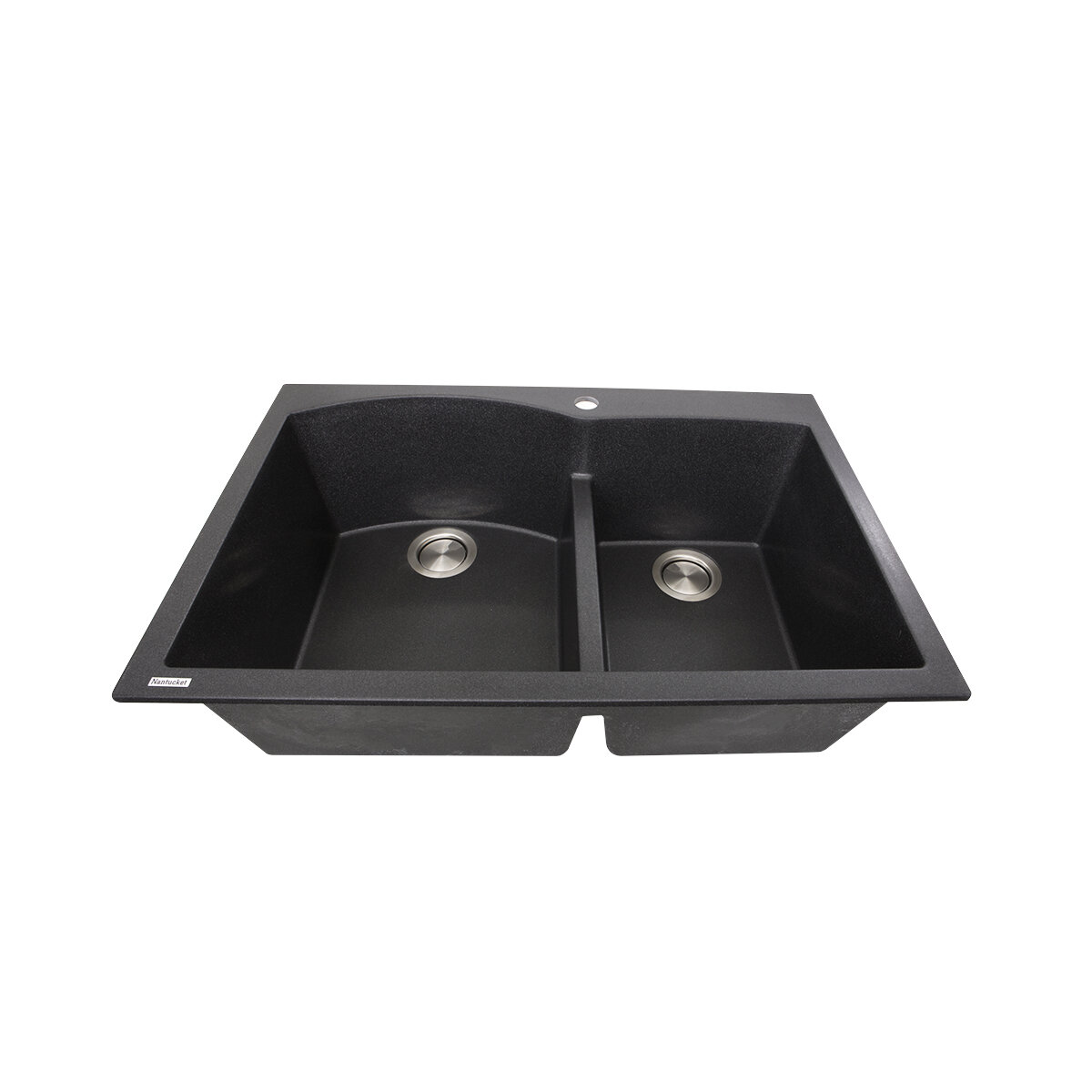 Plymouth 33 L X 22 W Double Basin Drop In Kitchen Sink Reviews