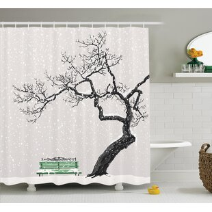 Clovis Winter Scenery Decor Shower Curtain