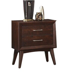 Fontainbleau 2 Drawer Nightstand by Ivy Bronx