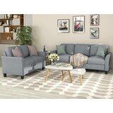 Ubly 2 Piece Standard Living Room Set by Red Barrel Studio®