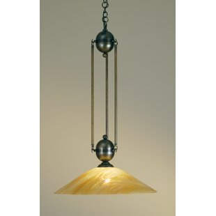 Meyda Tiffany Revival Deco Ball 1-Light C..