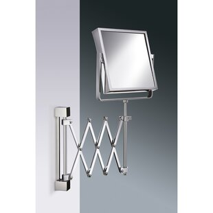 Great Price Wall Mounted Extendable Double Face Magnifying Mirror ByWindisch by Nameeks