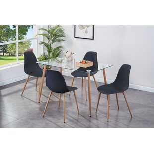 Review Dining Set With 5 Chairs