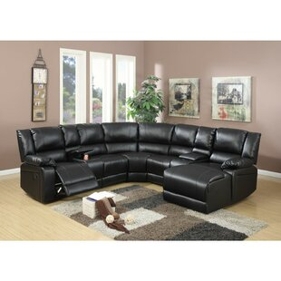 Shop Chaim Reclining Sectional by Red Barrel Studio
