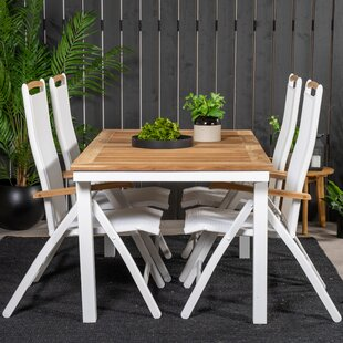 Navya 4 Seater Dining Set By Sol 72 Outdoor