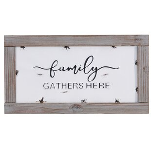 Family Quotes Wall Decor Wayfair