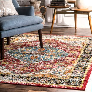 Maskell Polypropylene Red/Yellow/Blue Indoor/Outdoor Area Rug