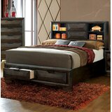 Barbosa Storage Standard Bed by Foundry Select