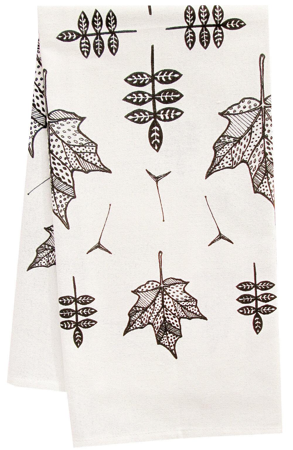 Artgoodies Organic Mod Maple Tea Towel Wayfair