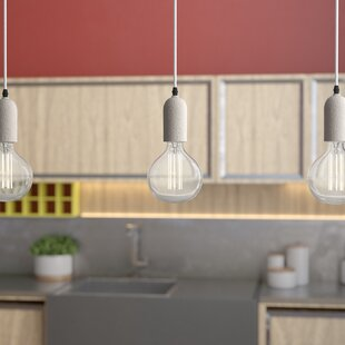 Buckland 1-Light Bulb Pendant by Williston Forge