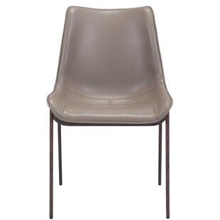 Kinkade Upholstered Metal Side Chair Set of 2 by Orren Ellis