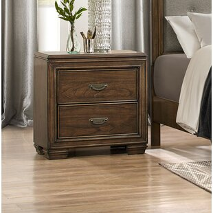 Garold 2 Drawer Nightstand by Canora Grey