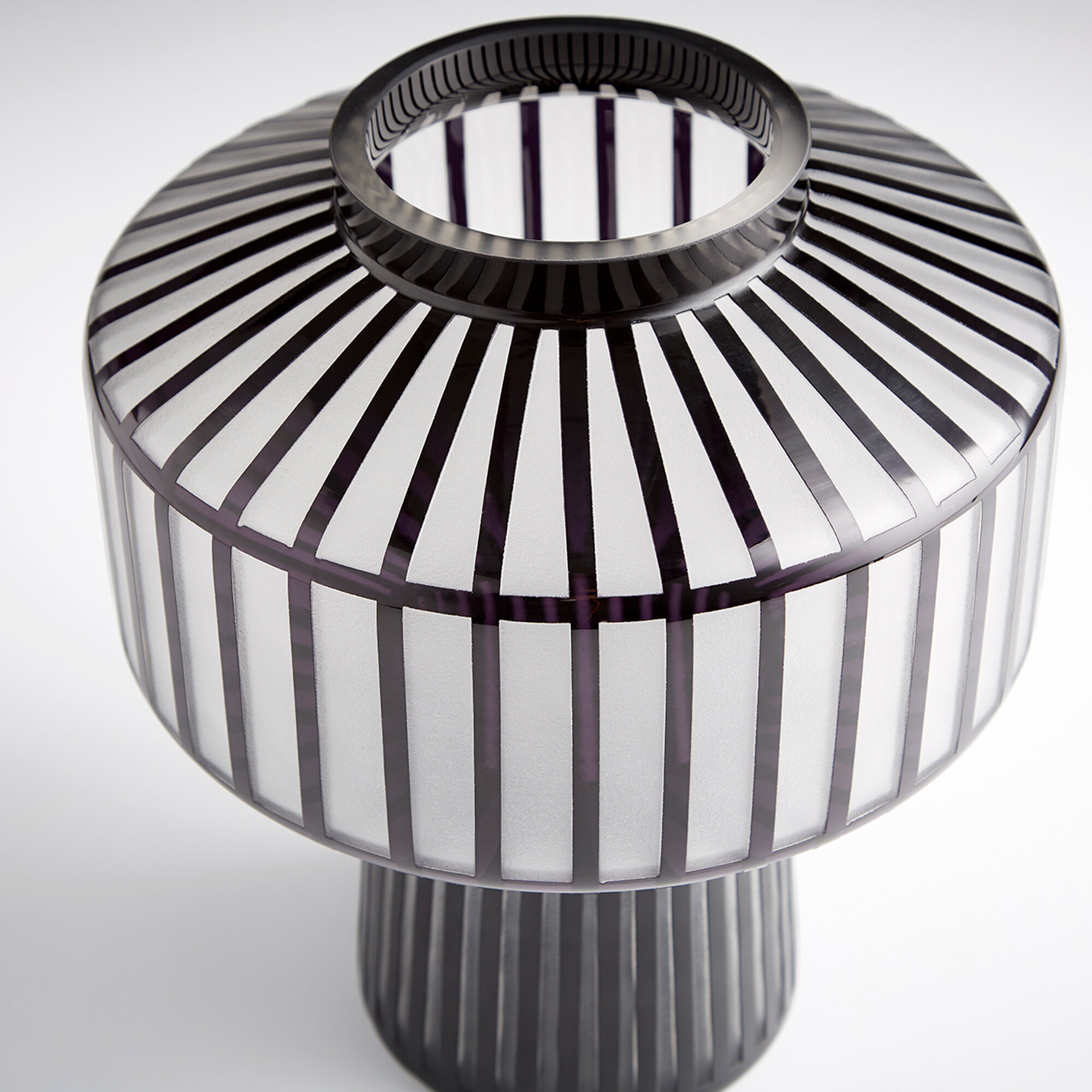 Cyan Design Black White 12 Glass Table Vase Wayfair