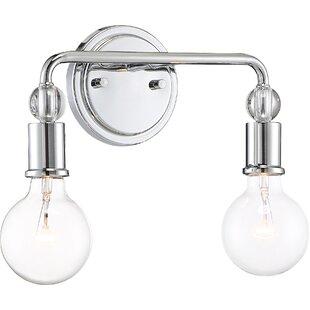 Affordable Christine 2-Light Vanity Light By Wrought Studio
