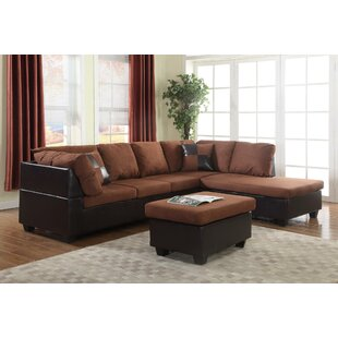 Soloman Sectional with Ottoman