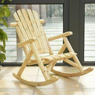 Pretor Rocking Chair by Loon Peak
