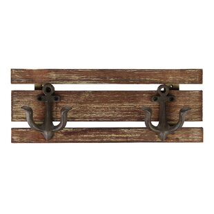 Torington 4 Piece Wall Mounted Coat Rack Set (Set Of 4) By Breakwater Bay